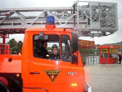 Stefan Feuerwehrauto